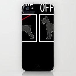 Giant Schnauzer Dog Pet Owner  Gift iPhone Case