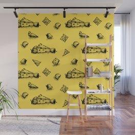 Cheeesy mood Wall Mural