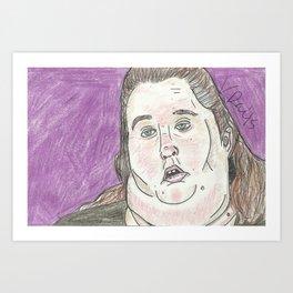 """""""I Just Look Good When I Wanna Look Good"""" Art Print"""