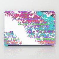 fringe iPad Cases featuring Fringe Floral by Ruby Valderama