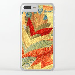 Expecting Autumn Clear iPhone Case