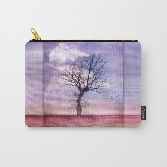 ATMOSPHERIC TREE | Early Spring Carry-All Pouch