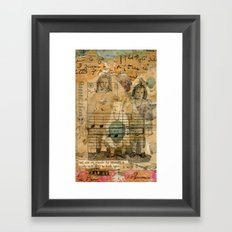 Secret Keepers of the Land Framed Art Print