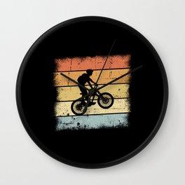 Mountain Bike Retro Wall Clock