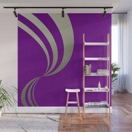 Eleganza,violet Wall Mural