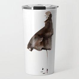 Brown coat Travel Mug