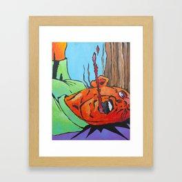 Jab Framed Art Print