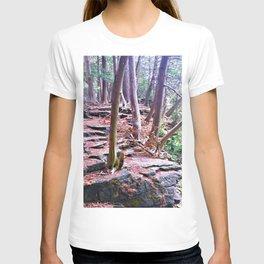 Woodland Rock Ledge T-shirt