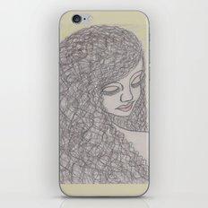 Lovely Girl iPhone & iPod Skin