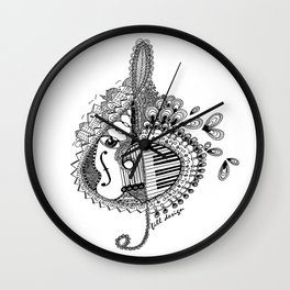 Music & More Wall Clock