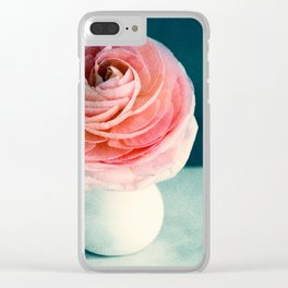 poetry light Clear iPhone Case