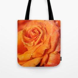 Tangerine Rose Tote Bag