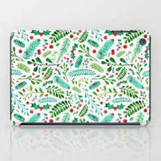 Christmas Florals iPad Case