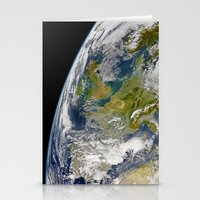 europe Stationery Cards featuring Europe by Planet Prints