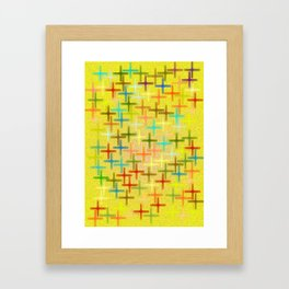 la cruz Framed Art Print