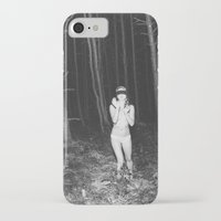 laura palmer iPhone & iPod Cases featuring Laura Palmer I by Linas Vaitonis