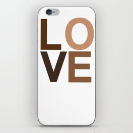 Love your skin iPhone Skin