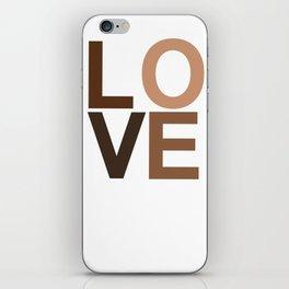 Love your skin iPhone Skin