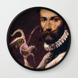 Arcturan Rache Wall Clock