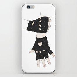 Biker Gloves iPhone Skin