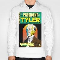 tyler spangler Hoodies featuring John Tyler by @DrunkSatanRobot