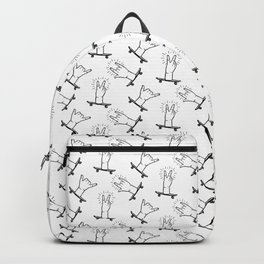 Heavy Metal Pattern | Music Fesitval Rocker Backpack