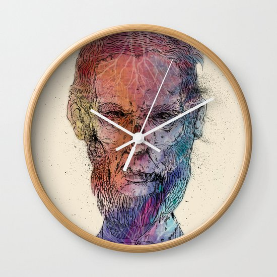 Zombie Lincoln Wall Clock