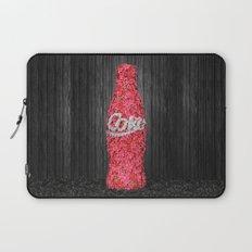 Flower Coke Laptop Sleeve