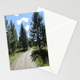 those smiling skies. Stationery Cards