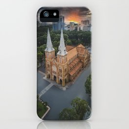 Notre-Dame Cathedral Basilica of Saigon iPhone Case