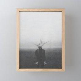 Fading Away Framed Mini Art Print