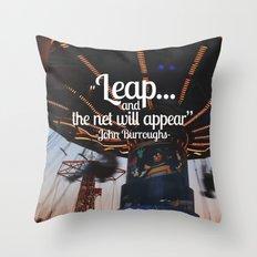 LEAP  Throw Pillow