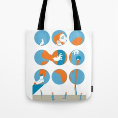 everybody is waiting just for you Tote Bag