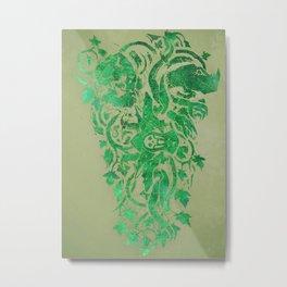 Warcraft *Hunter Crest* Metal Print