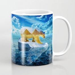 A Polar Bear Dreams of the Desert Coffee Mug