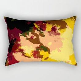 Ichiaru - Batik Camouflage Tie-Dye Style Pattern Rectangular Pillow