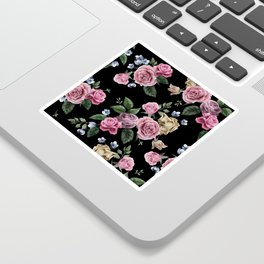 FLORAL PATTERN 10 Sticker