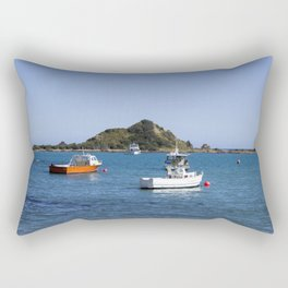 Island Bay Beach Rectangular Pillow