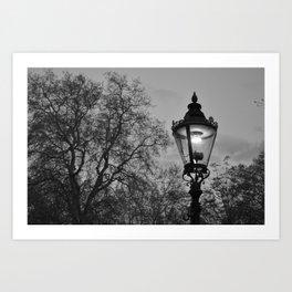 Lamplight Art Print