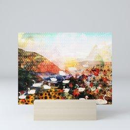 Scene Scenery Mini Art Print