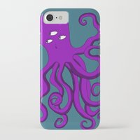 occult iPhone & iPod Cases featuring Occult Octopus by mystmoon