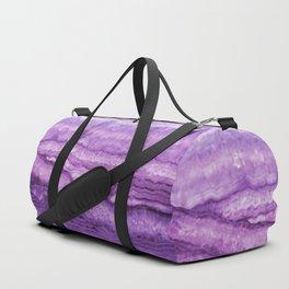 Mystic Stone Wild Violet Duffle Bag