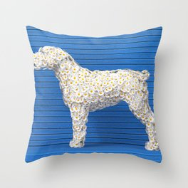 Daisy Dog Throw Pillow