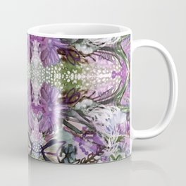 Psychedelic Positive Notes Lavender Zoom Coffee Mug