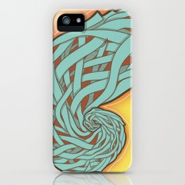 Golden rectangle iPhone Case
