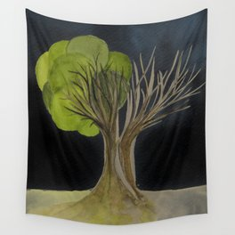 Duality Tree Wall Tapestry