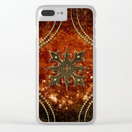 Wonderful decorative celtic cross Clear iPhone Case