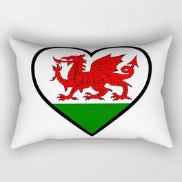 Love Wales Rectangular Pillow