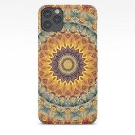 Flower Of Life Mandala (Sun-kissed) iPhone Case
