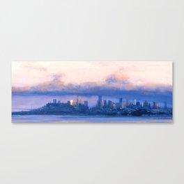 """Under the Fog"" Canvas Print"